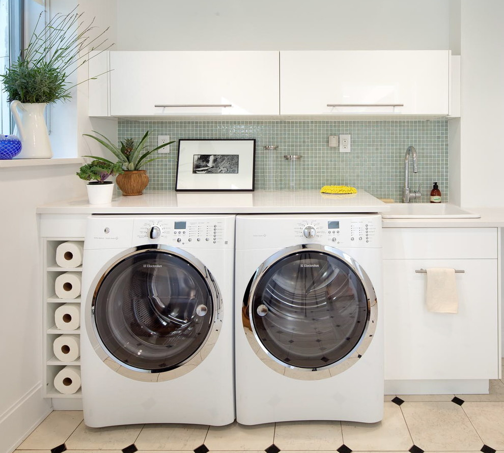 bathroom-with-washer-dryer-layout-contemporary-laundry-room-with ...