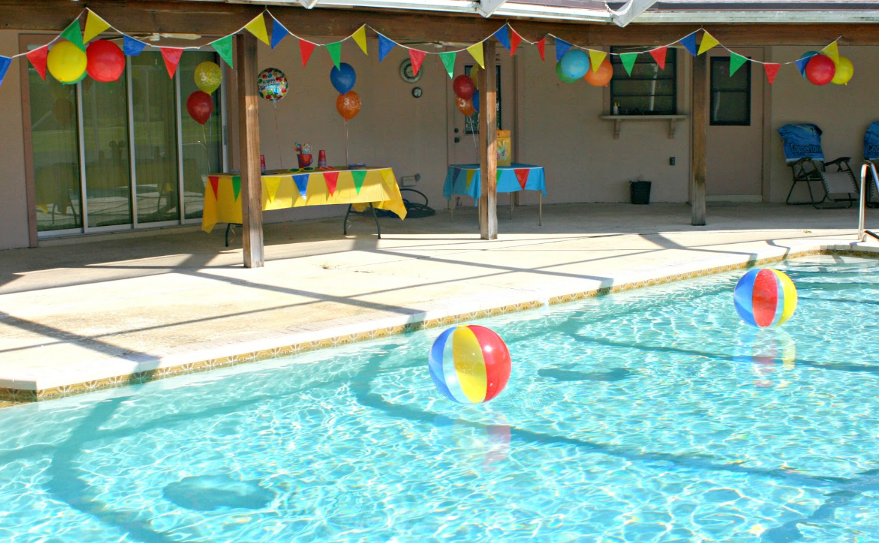 6 must have items for your summer pool party for Pool design must haves